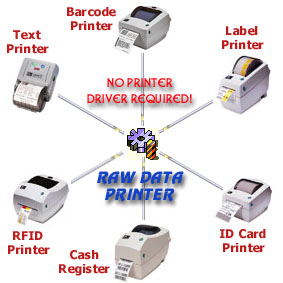 Raw Data Printer Component,Send Raw Data,Printer Commands,ESC Codes,Label Printers,Receipt Printers,Ticket Printers,Barcode Printers,Cash Registers,Control Printer,Print Raw Data,VB,VBA,VB.NET,C#.NET,VC.NET,MS Word,MS Access,MS Excel,ZPL Commands,PCL